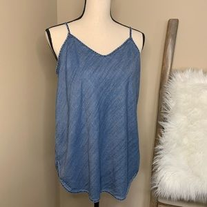 GAP 1969 Tencel Chambray Cami
